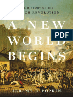 JEREMY POPKIN - A new world begins The history of the french revolution