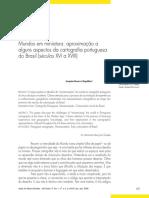 Magalhães - Mundos em miniatura - aproximação a alguns aspectos da cartografia portuguesa do Brasil sec XVI a XVIII