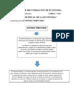 TRABAJO DE RECUPERACION DE ECONOMIA