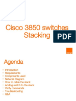 Cisco 3850 Switches Stacking