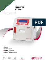 IC Electrolyte Analyzer Rápido y sencillo