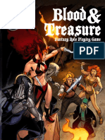 Blood & Treasure - 2nd Edition