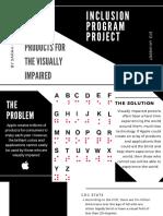 inclusion program project