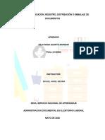 Evidencia 3 ADMINISTRACION DOCUMENTAL EN EL ENTORNO LABORAL