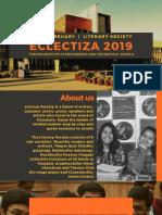 Eclectiza 2019