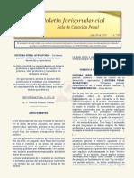 Boletin Jurisprudencial 2018-07-30
