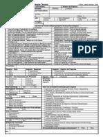 Tabela Produção Técnica - CAPES