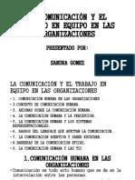 LA COMUNICACIÓN Y EL TRABAJO EN EQUIPO EN (1)