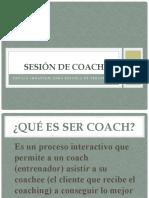 Sesión de coach