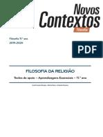FILOSOFIA DA RELIGIÃO PORTO EDITORA