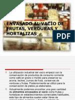 ENVASADO AL VACIO -FRUTAS