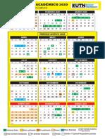 Calendario Academico 2020 UTN (Tecnicatura)