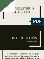 El Ministerio Auténtico