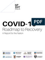 Go8 Road to Recovery