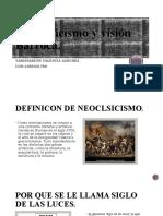 Neoclasicismo y visión Barroca