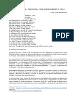 Carta abierta para prevenir la crisis alimentaria - Azuay.pdf