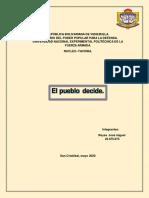 La participación ciudadana en Venezuela es un derecho que se encuentra consagrado en el Carta Magna
