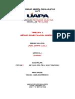 TAREA 2 de metodologia de la investigacion II j.