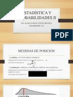 ESTADÍSTICA Y PROBABILIDADES II - SEMANA 2
