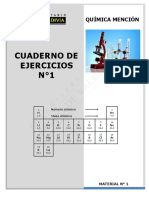 Química 2020 ejercixios