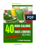 40 High Calorie Shakes and Smoothies