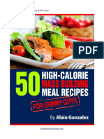 50 High Calorie Meal Recipes
