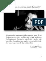 Los mejores poemas de Mario Benedetti