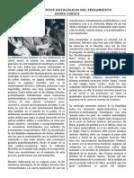 LOS FUNDAMENTOS ONTOLÓGICOS DEL PENSAMIENTO