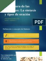 Estructura de las oraciones escenario 3-1.pptx