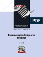 Manual Remuneração Agentes Políticos