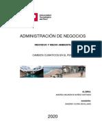 S04.s4 Tarea  EFECTOS DEL CAMBIO CLIMÁTICO EN EL PERÚ