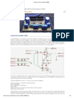 Gainclone Power Amplifier LM3886