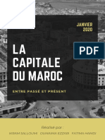 La capitale du Maroc entre passé et présent