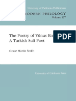 The Poetry of Yunus Emre, a Turkish Sufi poet