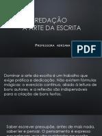 02 Redação - ESTRUTURA DISSERTATIVA - FACISA