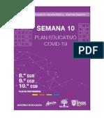 PLAN EDUCATIVO COVID -19 SEMANA10 8C MATEMAT