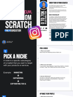 Grow From Scratch - IG Domination Free Guide - Steven Mellor