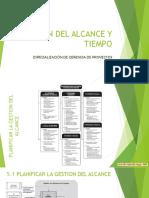 GESTION DEL ALCANCE Y TIEMPO