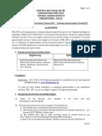 GAT  - TAT  Procedure for Applying 2020 Batch - Inviting application