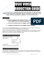 Music Video Blog-production Guide