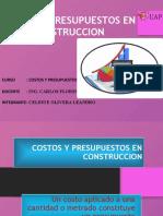 Costos Y Presupuesto.pptx