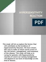 Hypersensitivity Reaction
