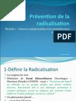Diaporama - Prévention de la radicalisation