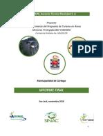 Fortalecimiento del Programa de Turismo en Áreas Protegidas