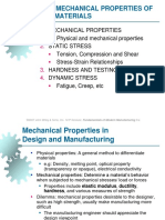 MKM I - Modul 3 - Mechanical Properties of Materials