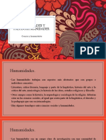 Humanidades y pseudohumanidades