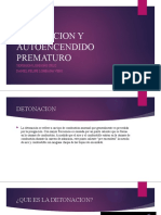 DETONACION Y AUTOENCENDIDO PREMATURO