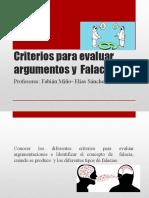 Falacias participación y argumentación
