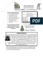 November 2010 Winter Newsletter #2