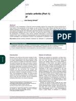 Enthesitis in psoriatic arthritis (Part 1)- pathophysiology2020